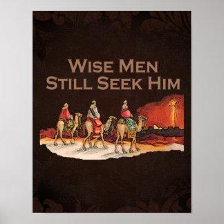 Los hombres sabios todavía lo buscan, navidad posters