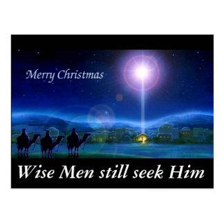 Los hombres sabios todavía lo buscan tarjeta de tarjeta postal