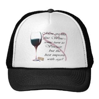 Los hombres son como los regalos del vino fino gorra