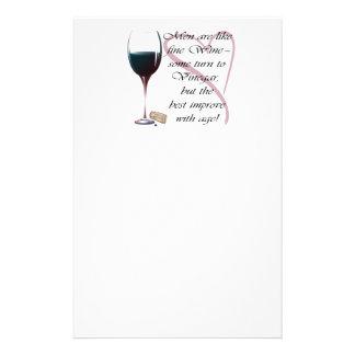Los hombres son como los regalos del vino fino papeleria