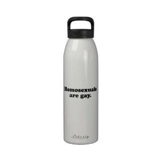 Los homosexuales son gay 2 png botellas de agua reutilizables