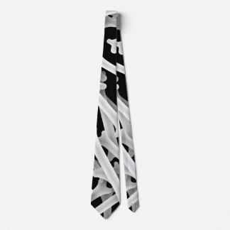 Los huesos radiografían más corbata