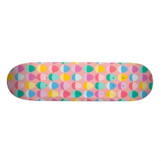 Los huevos de Pascua en colores pastel Patín Personalizado