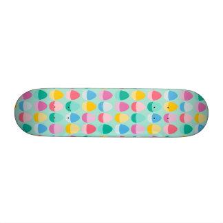 Los huevos de Pascua en colores pastel Tablas De Skate