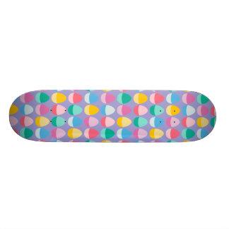 Los huevos de Pascua en colores pastel Patin Personalizado