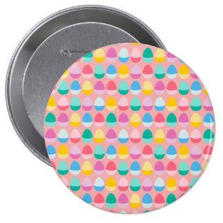 Los huevos de Pascua en colores pastel Chapa Redonda 10 Cm