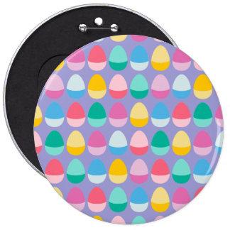 Los huevos de Pascua en colores pastel Chapa Redonda 15 Cm