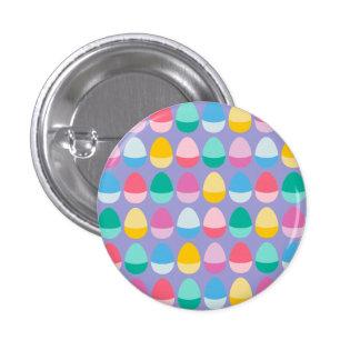 Los huevos de Pascua en colores pastel Pin Redondo De 1 Pulgada