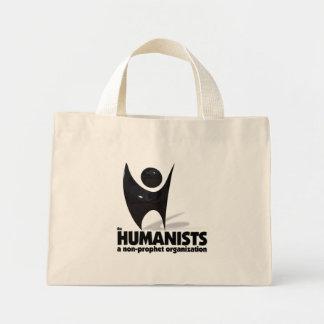 Los humanistas bolsa de tela pequeña
