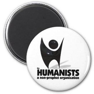 Los humanistas imán redondo 5 cm