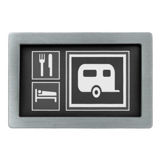 Los iconos de la señal de tráfico - COMA acampar d Hebilla Cinturon