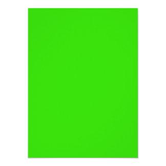 Los identificadores visuales nada pero colorean invitación 13,9 x 19,0 cm