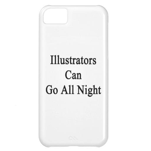 Los ilustradores pueden ir toda la noche