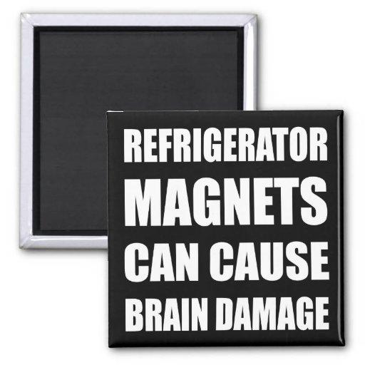 Los imanes del refrigerador pueden stropear daño c imán para frigorífico