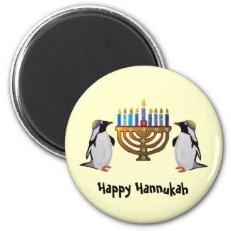 Los imanes elegidos congelados de Hannukah Imán Redondo 5 Cm