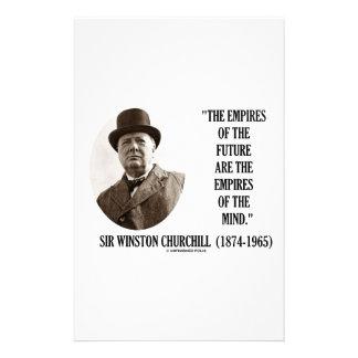 Los imperios del futuro son los imperios de la papelería
