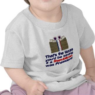 Los impuestos que usted ahorraría camiseta