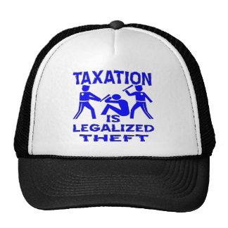 Los impuestos son hurto legalizado gorras de camionero