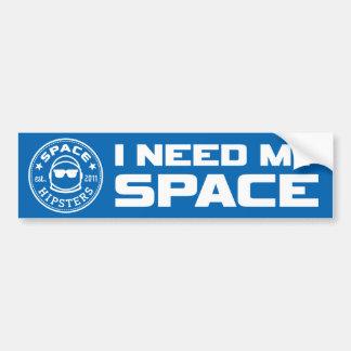 """Los inconformistas del espacio """"necesito pegatina pegatina para auto"""