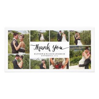 Los | indicados con letras que se casan le tarjetas fotograficas