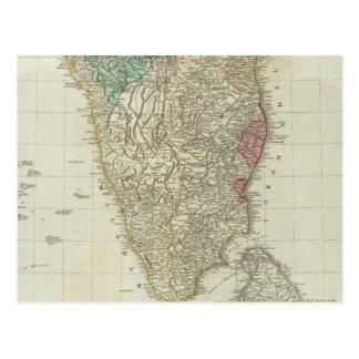 Los indies del este, con la sección del sur de los tarjetas postales