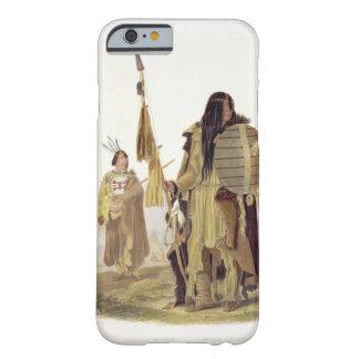 Los indios de Assiniboin, platean 32 del volumen 2 Funda Para iPhone 6 Barely There