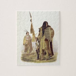 Los indios de Assiniboin platean 32 del volumen 2 Rompecabezas