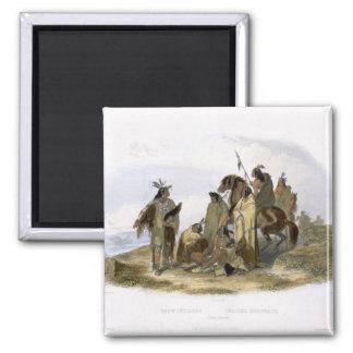 Los indios del cuervo platean 13 del volumen 1 de imanes