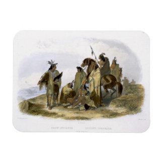 Los indios del cuervo platean 13 del volumen 1 de imanes flexibles
