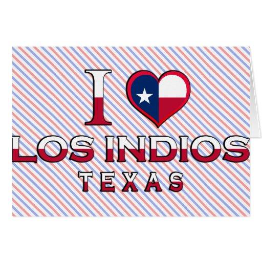 Los Indios, Texas Greeting Card