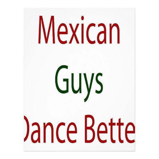 Los individuos mexicanos bailan mejor plantillas de membrete