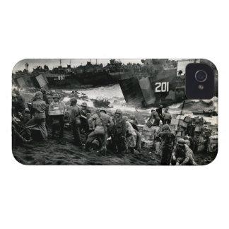 Los infantes de marina de WWII descargan fuentes Case-Mate iPhone 4 Cobertura