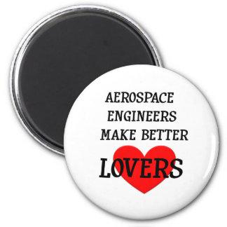 Los ingenieros aeroespaciales hacen a mejores aman imán redondo 5 cm