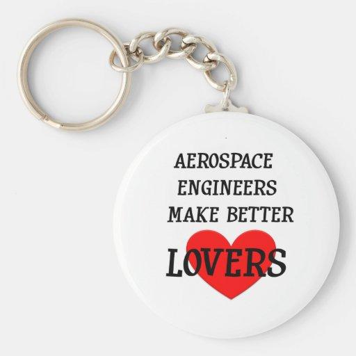 Los ingenieros aeroespaciales hacen a mejores aman llavero