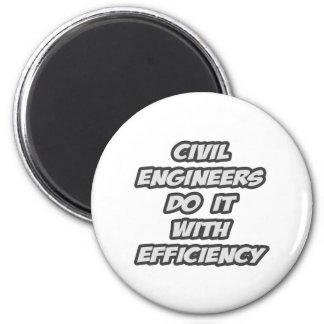 Los ingenieros civiles lo hacen con eficacia imán redondo 5 cm