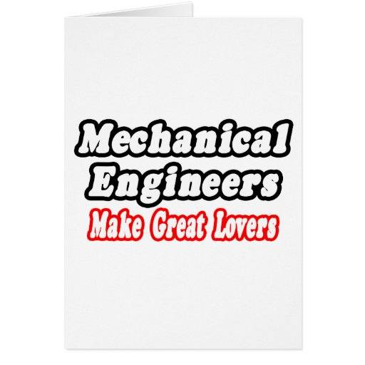 Los ingenieros industriales hacen a grandes amante felicitacion