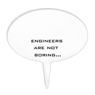 Los ingenieros no están agujereando figuras de tarta