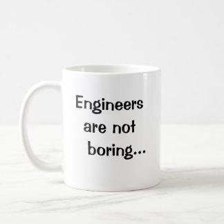 Los ingenieros no están agujereando - cita taza clásica