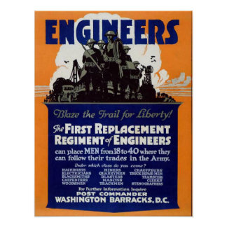 Los ingenieros, se arden el rastro para la liberta póster