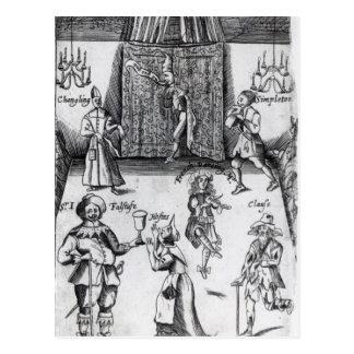 Los ingenios, o, deporte sobre el deporte, 1662 postal