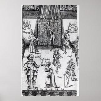 Los ingenios, o, deporte sobre el deporte, 1662 póster