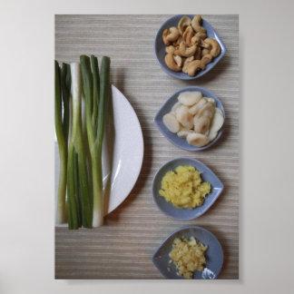 Los ingredientes chinos secretos a su poster de la
