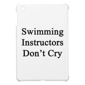 Los instructores de la natación no lloran
