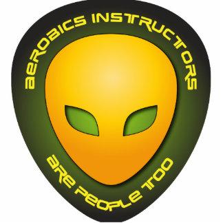 Los instructores de los aeróbicos son gente tambié esculturas fotográficas