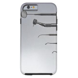 Los instrumentos del dentista funda resistente iPhone 6