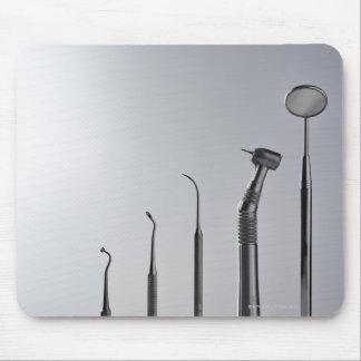 Los instrumentos del dentista alfombrilla de raton