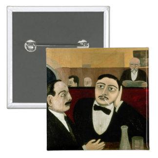 Los intelectuales en el café Rotonde, 1916 Pins