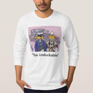 Los intocables de Unduckables Playeras