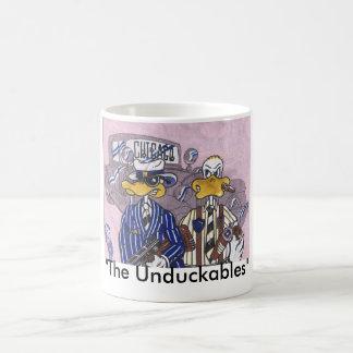 Los intocables de Unduckables Taza Básica Blanca