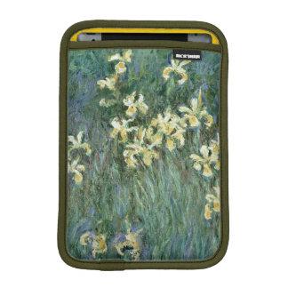 Los iris amarillos (aceite en lona) funda para iPad mini